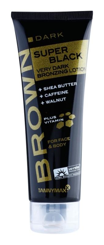 Tannymaxx Brown Super Black крем для засмаги у солярії з бронзером