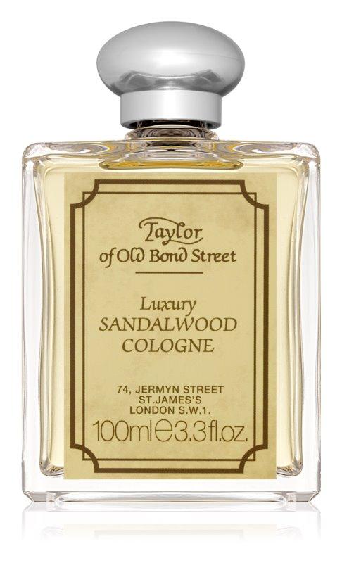 Taylor of Old Bond Street Sandalwood Eau de Cologne voor Mannen 100 ml