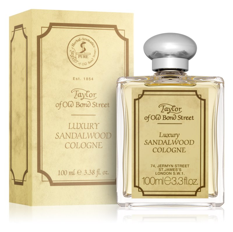 Taylor of Old Bond Street Sandalwood Eau de Cologne voor Mannen 100 ml