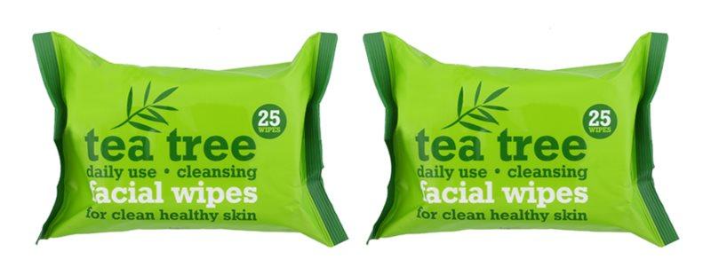Tea Tree Facial Wipes čisticí ubrousky na obličej
