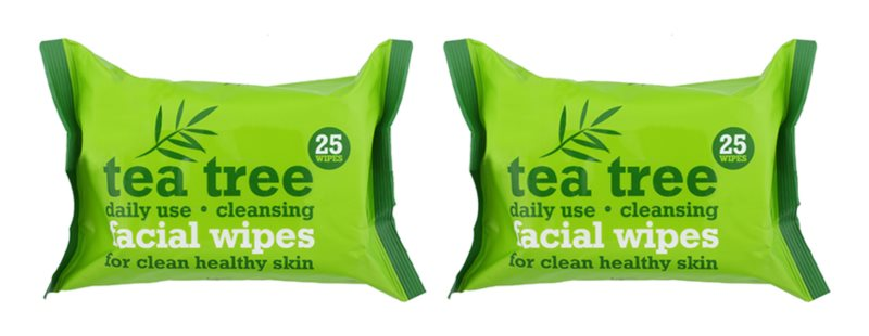 Tea Tree Facial Wipes Cleansing Wipes for Face