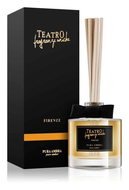 Teatro Fragranze Pura Ambra Aroma Diffuser With Filling 100 ml