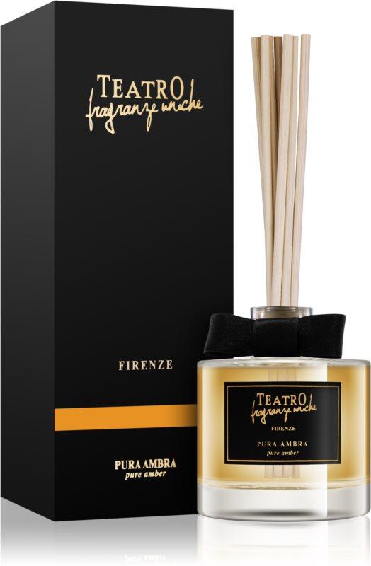 Teatro Fragranze Pura Ambra dyfuzor zapachowy z napełnieniem 100 ml