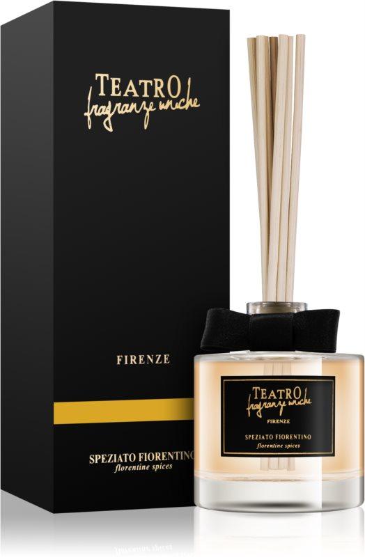 Teatro Fragranze Speziato Fiorentino aroma Diffuser met navulling 100 ml