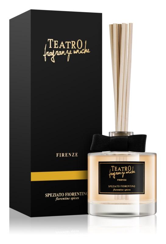 Teatro Fragranze Speziato Fiorentino diffuseur d'huiles essentielles avec recharge 100 ml