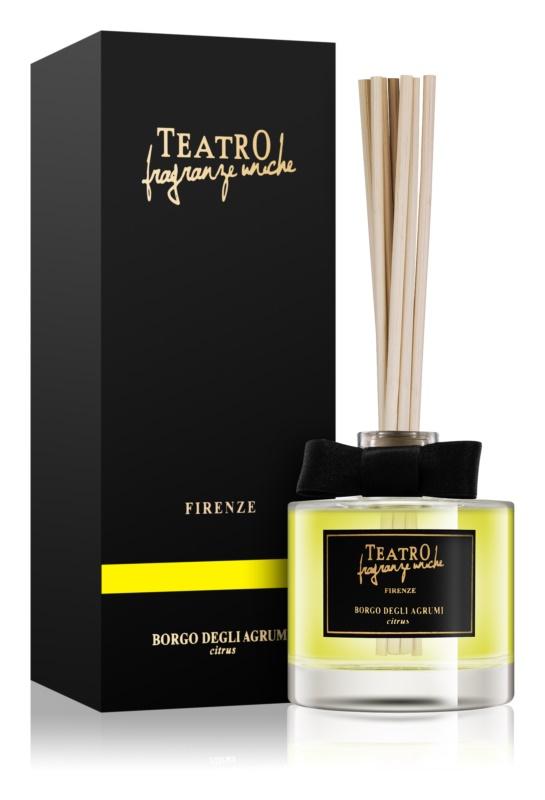 Teatro Fragranze Borgo Degli Agrumi diffusore di aromi con ricarica 100 ml