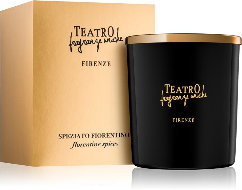 Teatro Fragranze Speziato Fiorentino Duftkerze  180 g