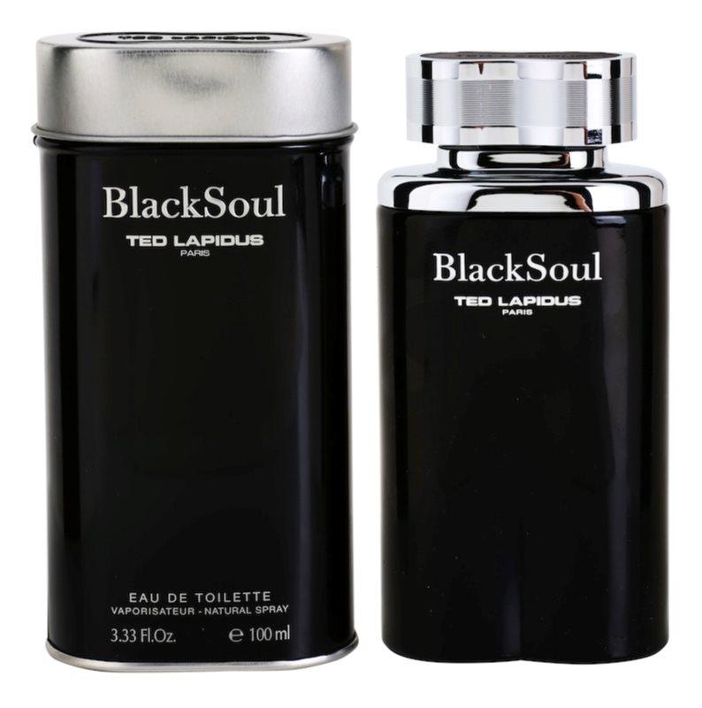 Ted Lapidus Black Soul eau de toilette pentru barbati 100 ml