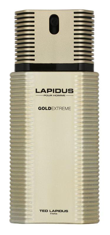 Ted Lapidus Gold Extreme eau de toilette pentru barbati 100 ml