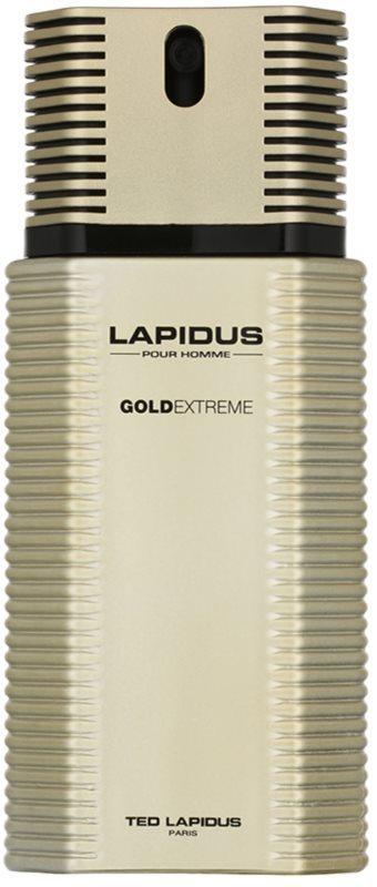 Ted Lapidus Gold Extreme eau de toilette pour homme 100 ml
