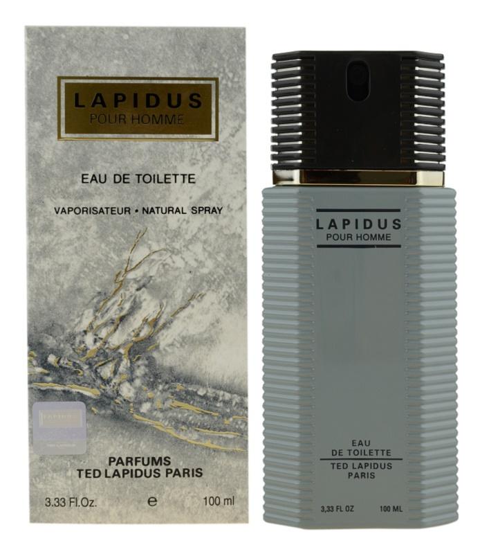 Ted Lapidus Lapidus Pour Homme Eau de Toilette Herren 100 ml