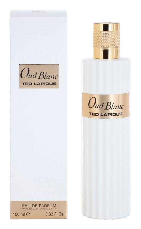 Ted Lapidus Oud Blanc Eau de Parfum unisex 100 ml