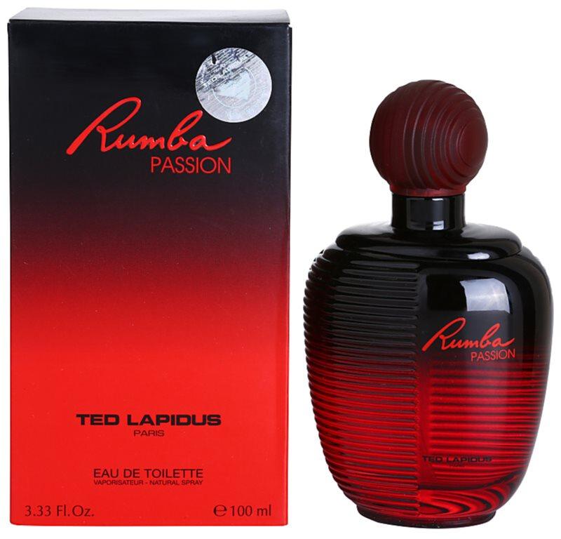 Ted Lapidus Rumba Passion eau de toilette pour femme 100 ml