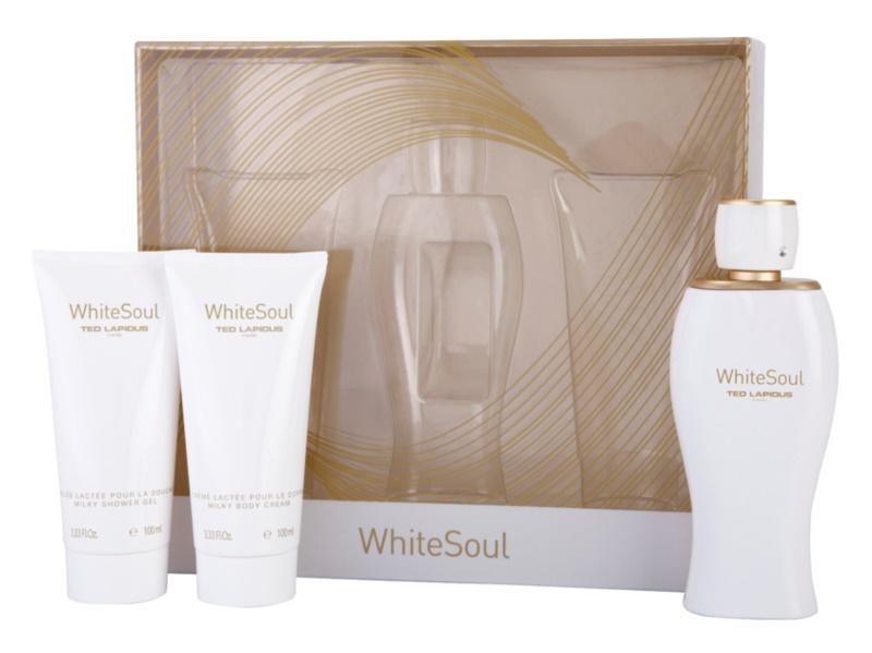 Ted Lapidus White Soul Geschenkset I.