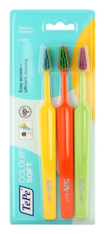 TePe Colour Soft Zahnbürsten 3 Stk.