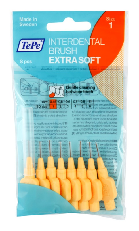 TePe Extra Soft cepillos interdentales 8 uds