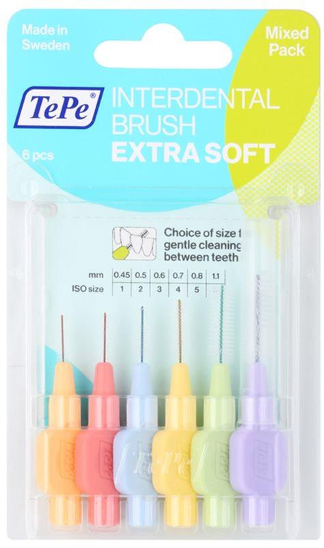 TePe Extra Soft medzizubné kefky 8 ks mix