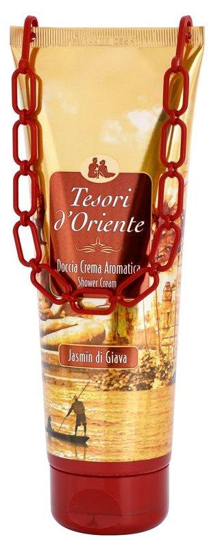 Tesori d'Oriente Jasmin di Giava gel doccia per donna 250 ml