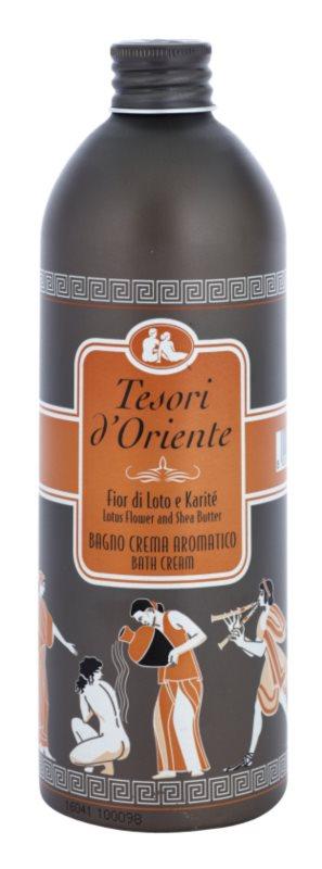Tesori d'Oriente Lotus Flower & Acacia´s Milk засоби для ванни для жінок 500 мл