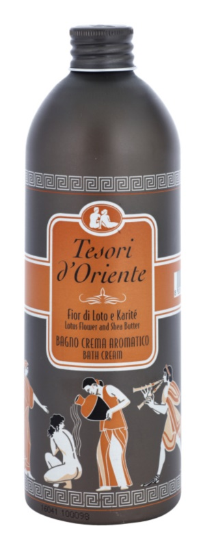 Tesori d'Oriente Lotus Flower & Acacia´s Milk fürdő termék nőknek 500 ml