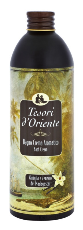 Tesori d'Oriente Vanilla & Ginger of Madagaskar Badeschaum unisex 500 ml