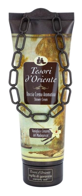 Tesori d'Oriente Vanilla & Ginger of Madagaskar gel de dus pentru femei 250 ml
