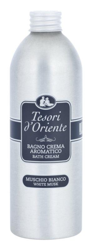 Tesori d'Oriente White Musk Bad producten  voor Vrouwen  500 ml