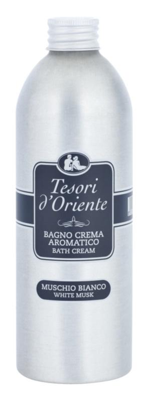 Tesori d'Oriente White Musk produkt do kąpieli dla kobiet 500 ml