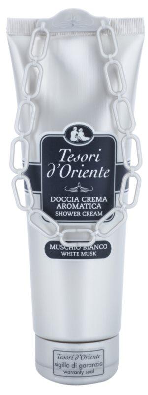 Tesori d'Oriente White Musk crema de dus pentru femei 250 ml