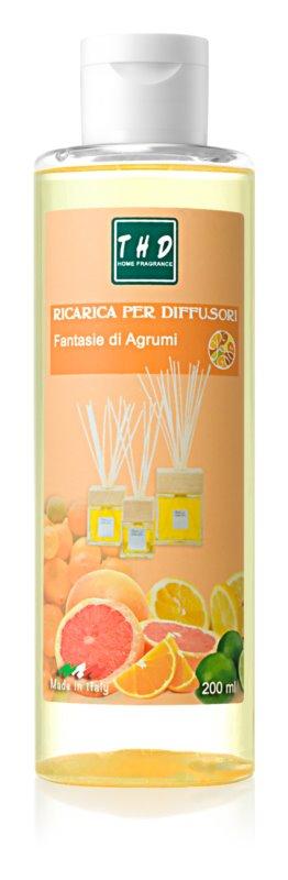 THD Rica Rica Fantasie di Agrumi nadomestno polnilo za aroma difuzor 200 ml