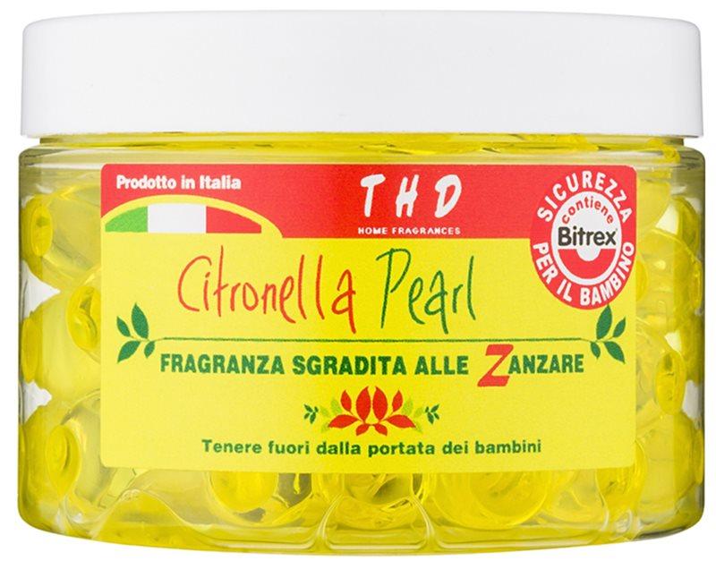 THD Home Fragrances Citronella Pearl vonné perly 150 ml
