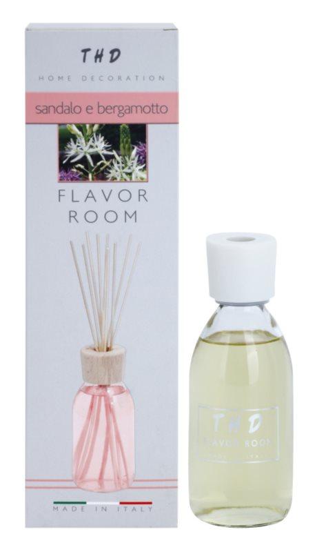 THD Diffusore THD Sandalo e Bergamotto aroma difuzor cu rezervã 200 ml