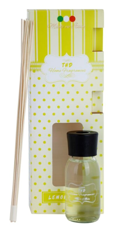 THD Home Fragrances Lemongrass Aroma Diffuser With Refill 100 ml