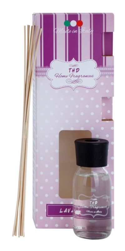 THD Home Fragrances Lavanda aroma difuzér s náplní 100 ml