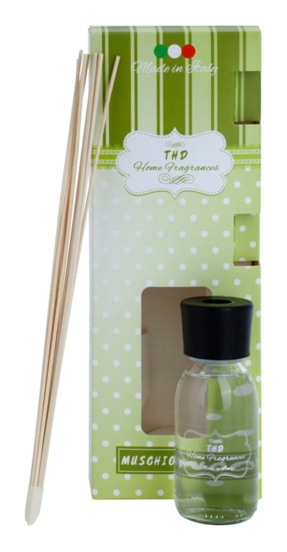 THD Home Fragrances Muschio Bianco Aroma Diffuser With Refill 100 ml