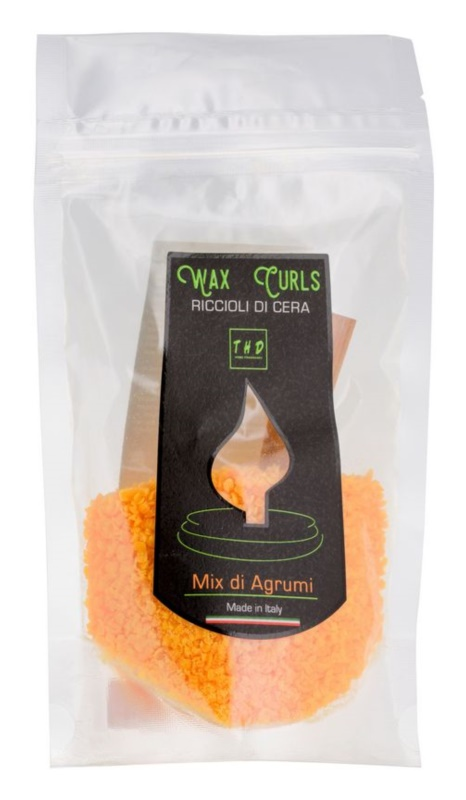 THD Wax Curls Mix Di Agrumi Wax Melt 100 g