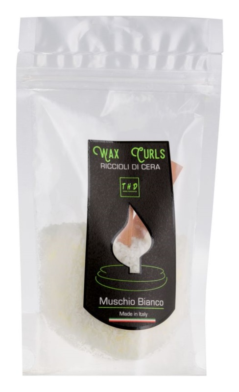 THD Wax Curls Muschio Bianco vosek za aroma lučko  100 g