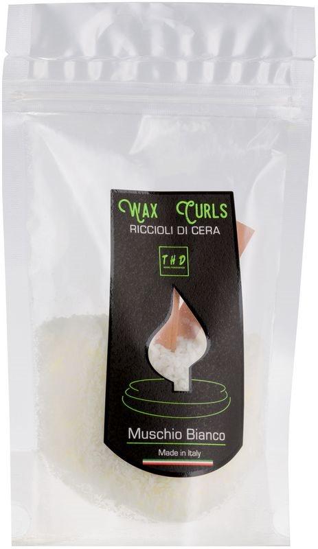 THD Wax Curls Muschio Bianco Wax Melt 100 g