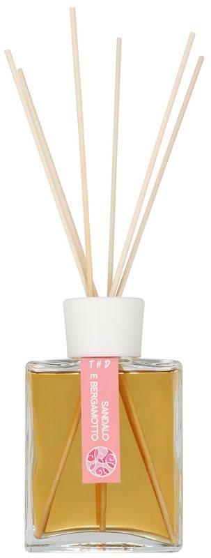 THD Platinum Collection Sandalo E Bergamotto diffusore di aromi con ricarica 200 ml