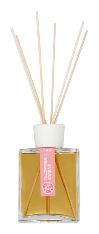 THD Platinum Collection Sandalo E Bergamotto dyfuzor zapachowy z napełnieniem 200 ml