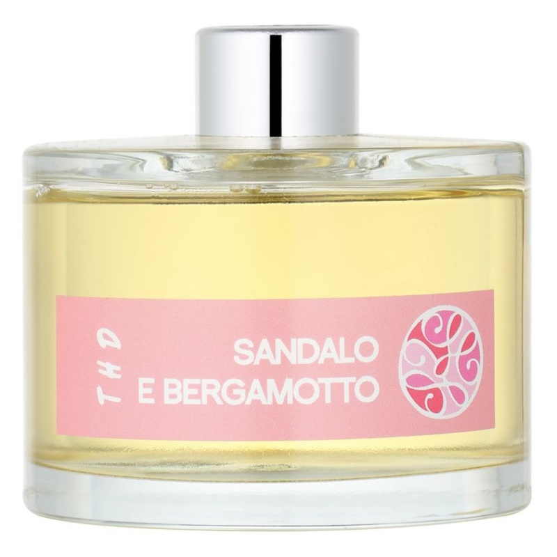 THD Platinum Collection Sandalo E Bergamotto aroma difuzor cu rezervã 100 ml