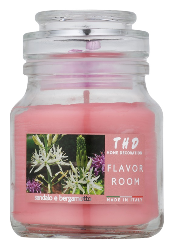 THD Candela Profumeta Sandalo e Bergamotto świeczka zapachowa  140 g