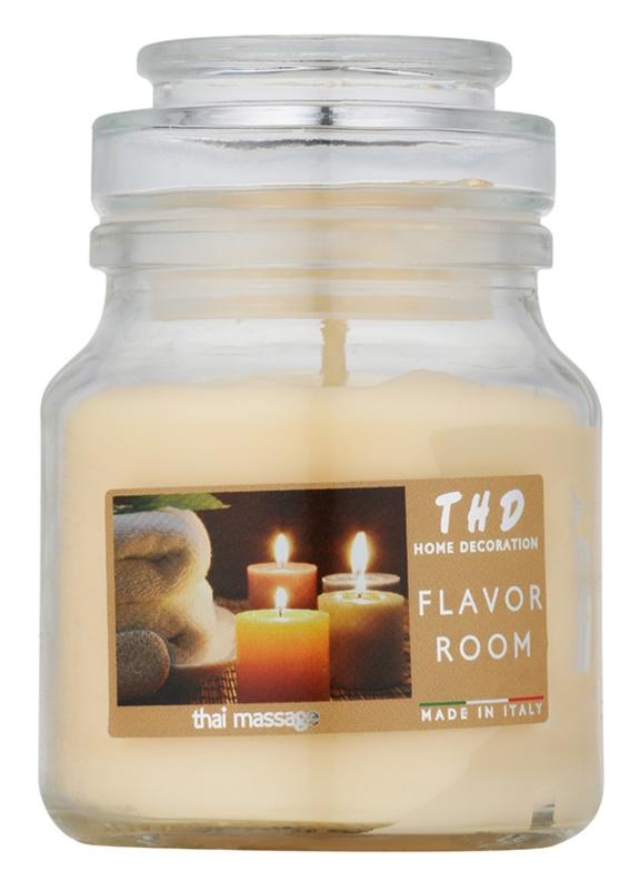 THD Candela Profumeta Thai Massage bougie parfumée 140 g