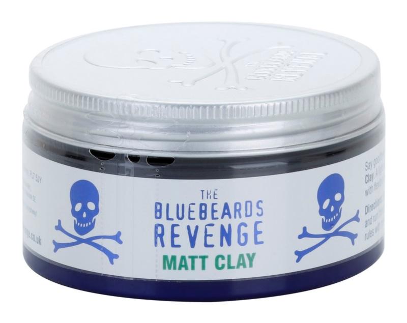 The Bluebeards Revenge Hair & Body formázó agyag hajra mattító hatással