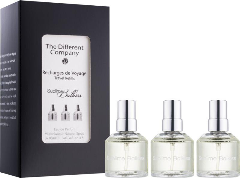 The Different Company Sublime Balkiss Eau de Parfum unisex 3 x 10 ml (3x Refill with Vaporiser)