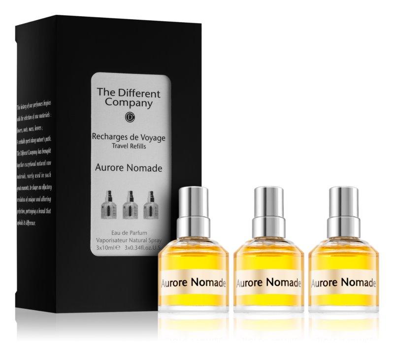 The Different Company Aurore Nomade eau de parfum unisex 3 x 10 ml (3x spray reincarcabil)