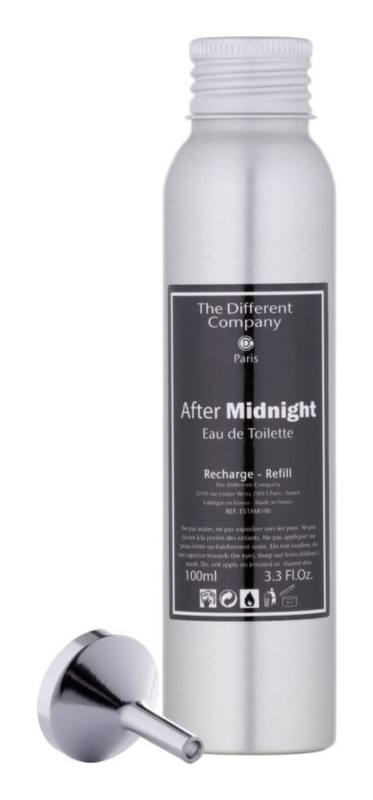 The Different Company After Midnight Eau de Toilette unisex 100 ml Refill