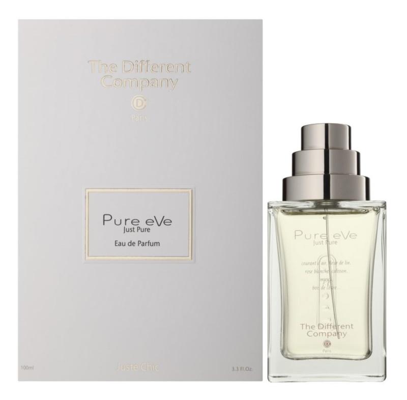 The Different Company Pure eVe Eau de Parfum Damen 100 ml Nachfüllbar