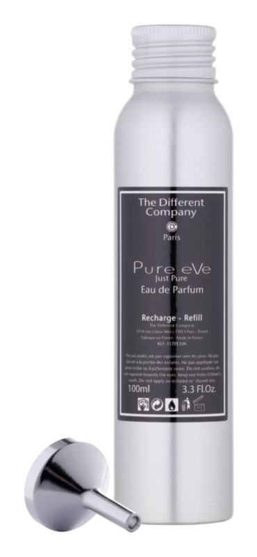 The Different Company Pure eVe Eau de Parfum für Damen 100 ml Ersatzfüllung