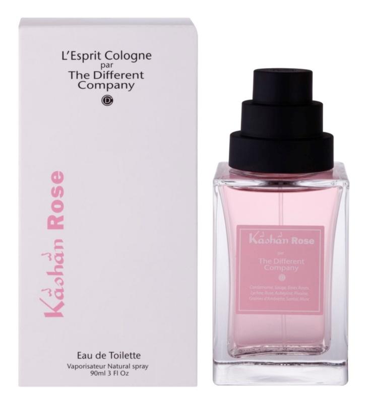 The Different Company L'Esprit Cologne Kâshân Rose toaletní voda pro ženy 90 ml